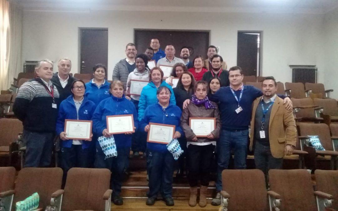 Reconocimiento a nuestro equipo de aseo clínico especializado – Hospital Dr. Lucio Córdova