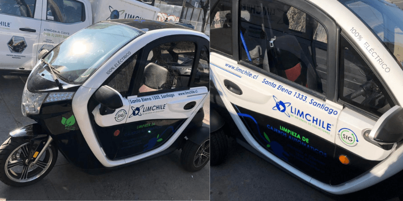 Unidad eléctrica ATM para limpieza de cajeros automáticos